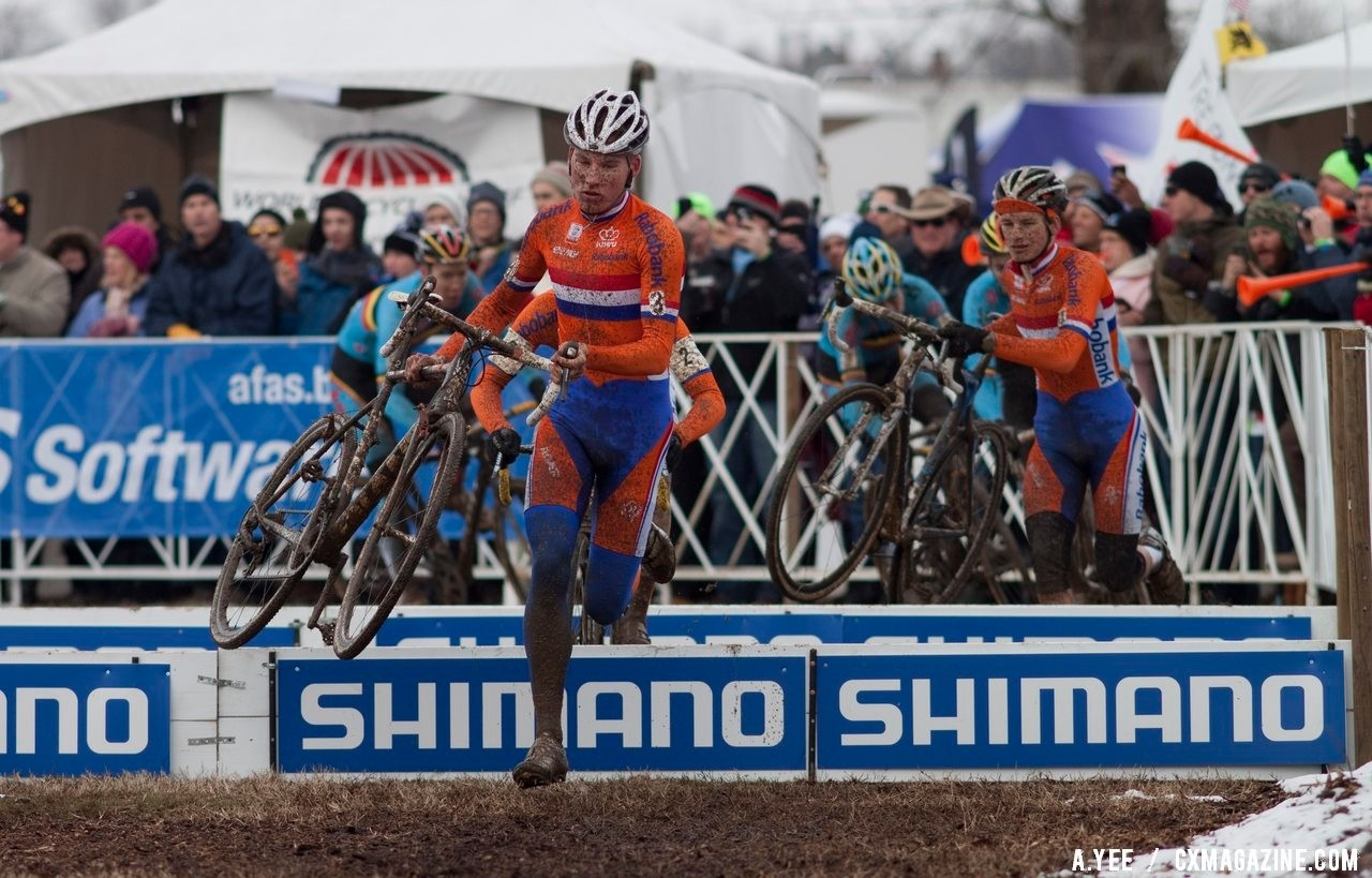 Mike Teunissen won the 2013 U23 Cyclocross World Championship. © Cyclocross Magazine