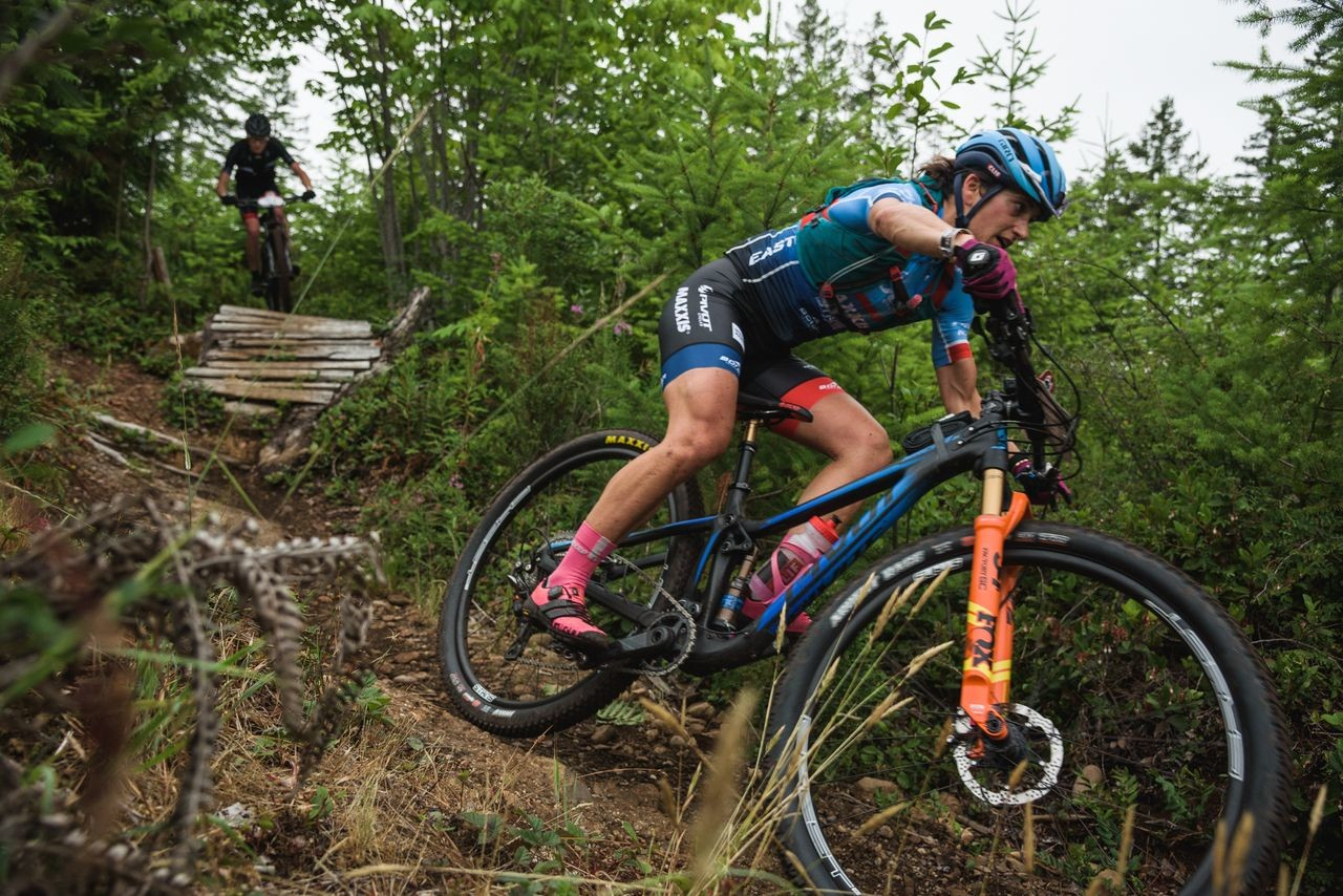 Courtenay McFadden had a strong BC Bike Race, finishing second in the GC. © Dave Silver Photography / BC Bike Race
