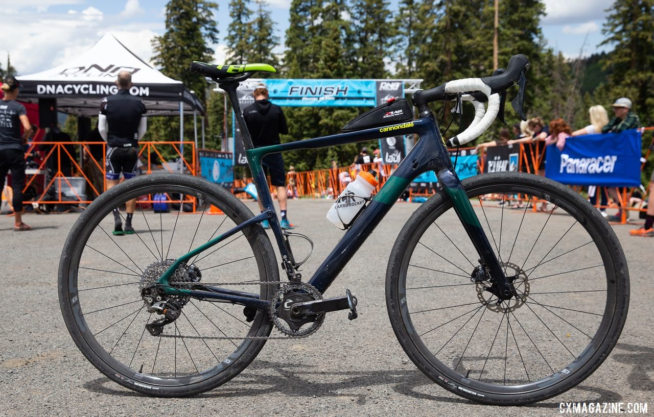 Alex Grant rode a Topstone Carbon to the win. 2019 Crusher in the Tushar Gravel Race. © Catherine Fegan-Kim / Cottonsox Photo