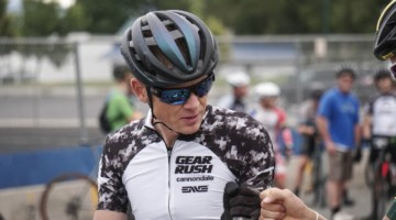 Alex Grant was ready to go at the start of the 2019 Crusher in the Tushar. © Hyperthreads