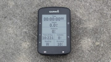 The $280 Garmin Edge 520 Plus has new mapping features. Garmin Edge 520 Plus Cycling Computer. © Z. Schuster / Cyclocross Magazine
