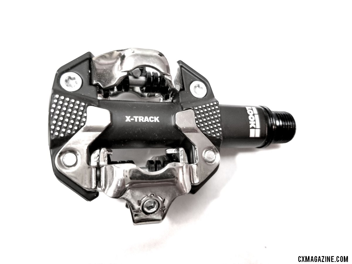 The Look X-Track mountain bike / cyclocross SPD-compatible clipless pedal. © A. Yee / Cyclocross Magazine