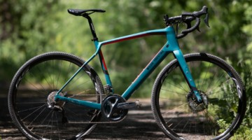 The Wilier Triestina Jena carbon gravel bike comes in five sizes and six builds. © A. Yee / Cyclocross Magazine