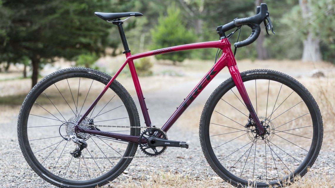 2020 Trek Crockett 5 Cyclocross Bike. © C. Lee / Cyclocross Magazine