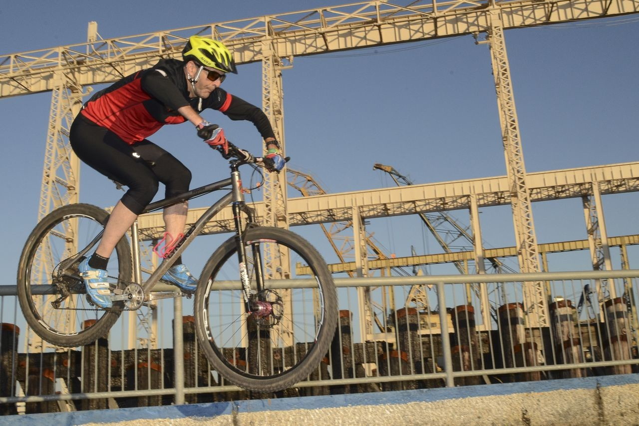The historic Mare Island shipyard will provide a backdrop for the Urban Cyclocross event. photo: Ride Napa Valley