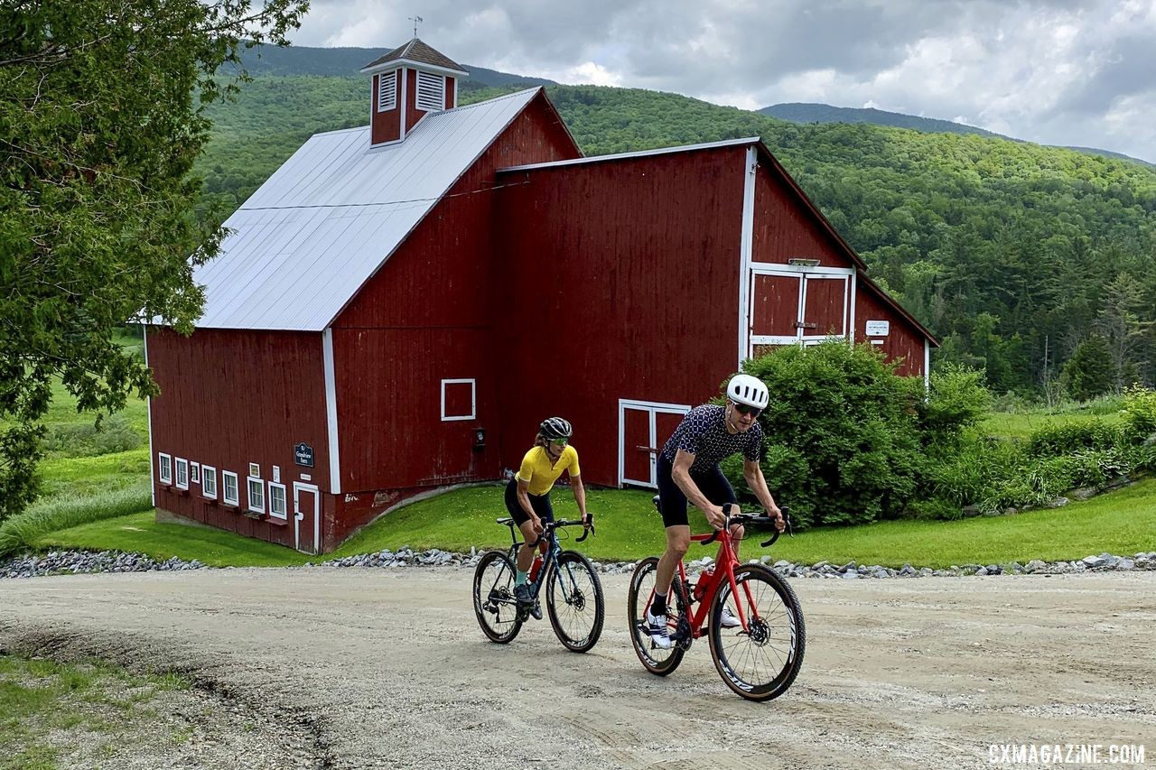 Laura and Ted King are set to welcome gravel friends at Rooted Vermont. photo: Rooted Vermont