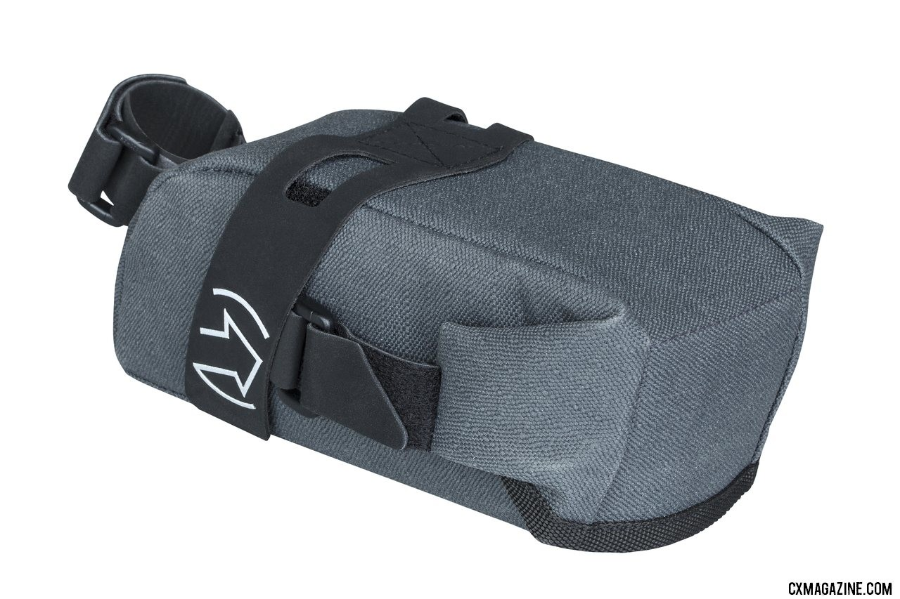 New PRO Discover bags includes a small frame bag, saddle bag and handlebar bottle bag. © A. Yee / Cyclocross Magazine