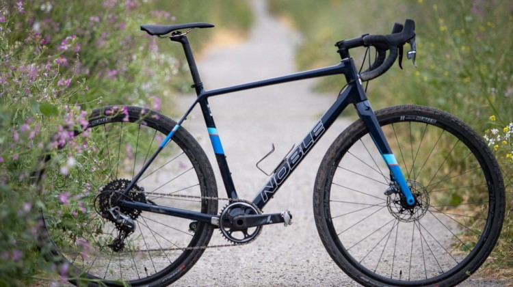 The Noble Bikes carbon GX5 gravel bike. © A. Yee / Cyclocross Magazine