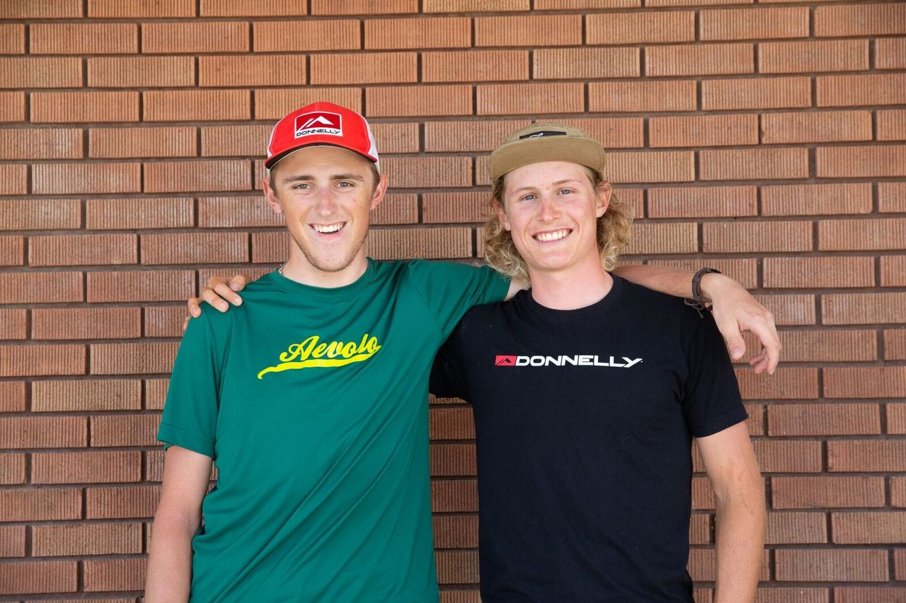 Gage Hecht and Lance Haidet will be racing for the Donnelly - Aevolo Cyclocross Team in 2019/20. photo: Donnelly