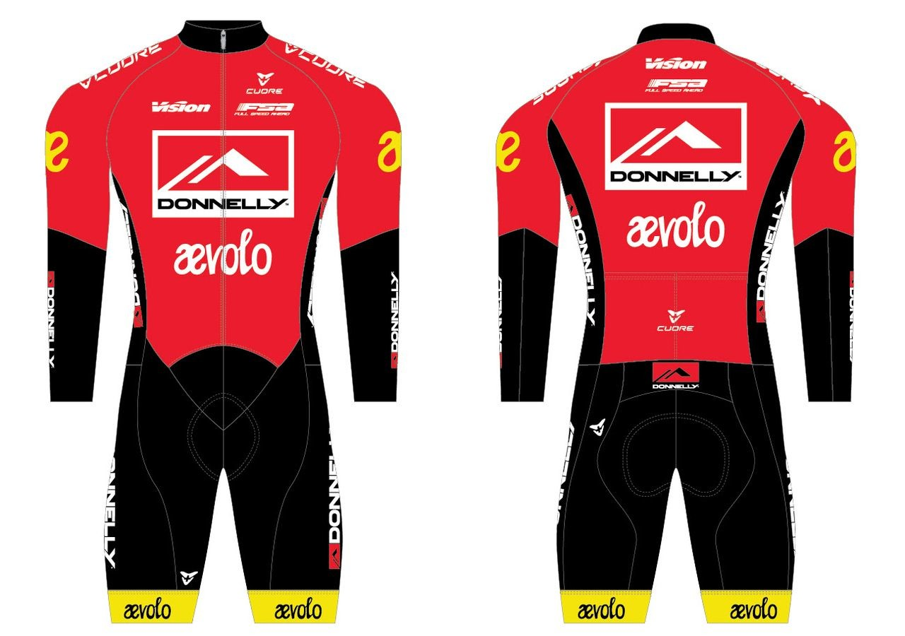 Donnelly and Aevolo are sponsoring a cyclocross team in 2019/20. photo: Donnelly