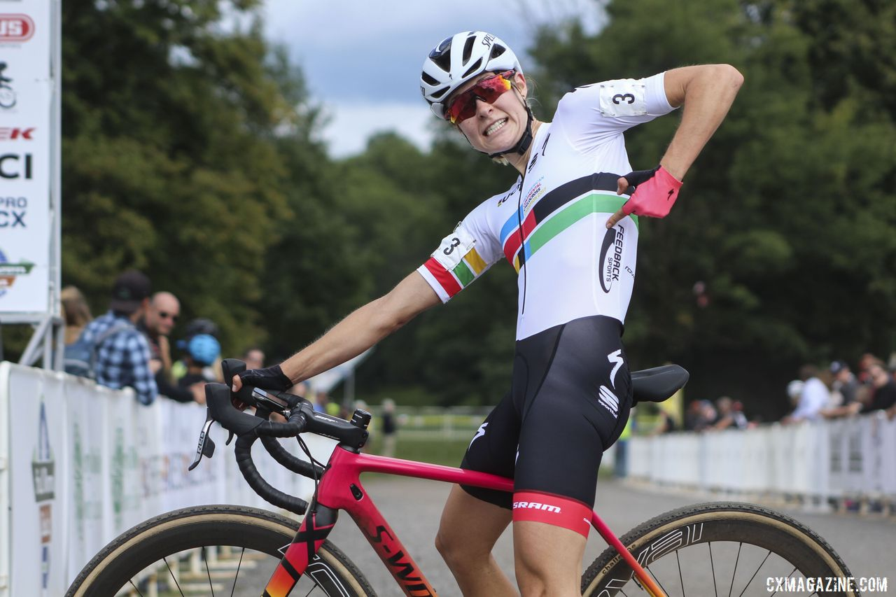 How the Cyclocross Pros Train: Maghalie Rochette, Part Two