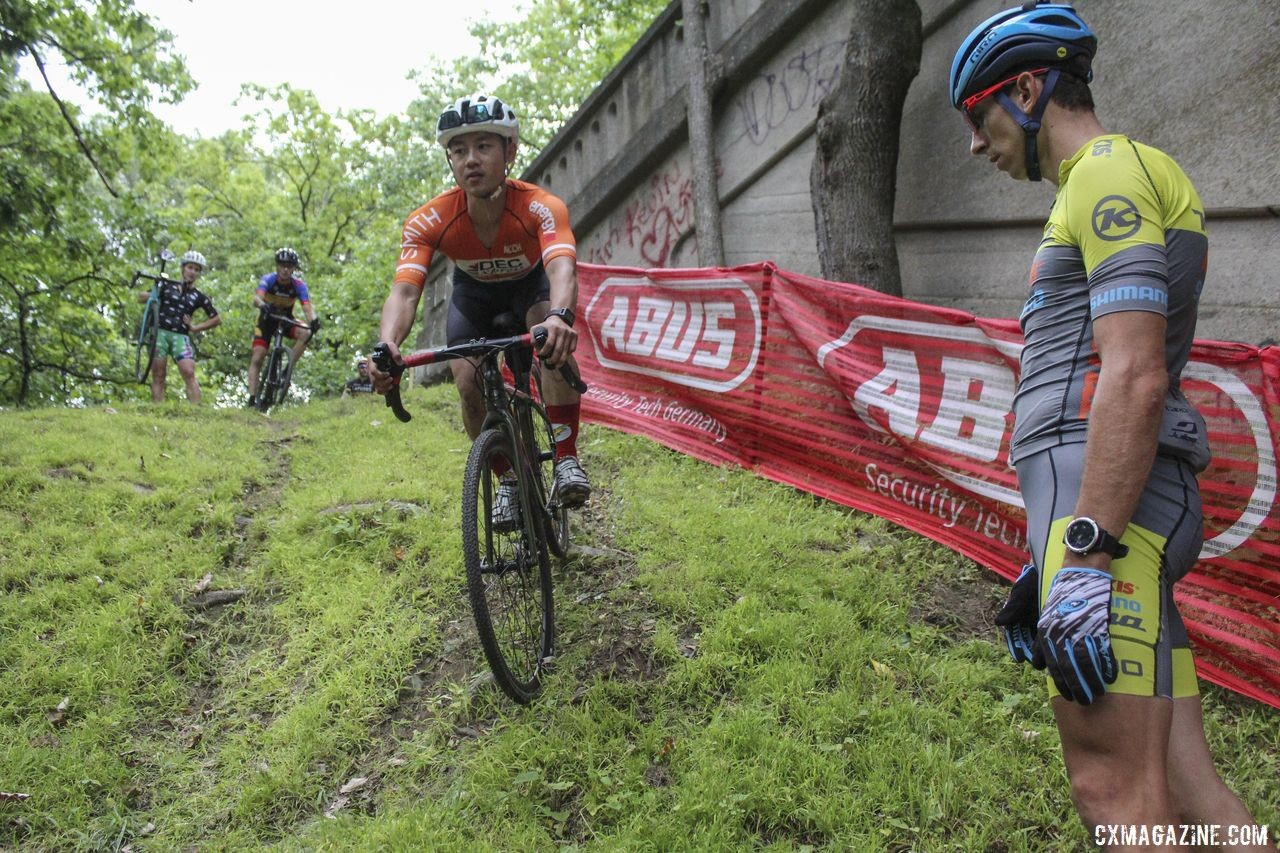 Now. 2019 Rochester Cyclocross Friday Pre-Ride. © Z. Schuster / Cyclocross Magazine