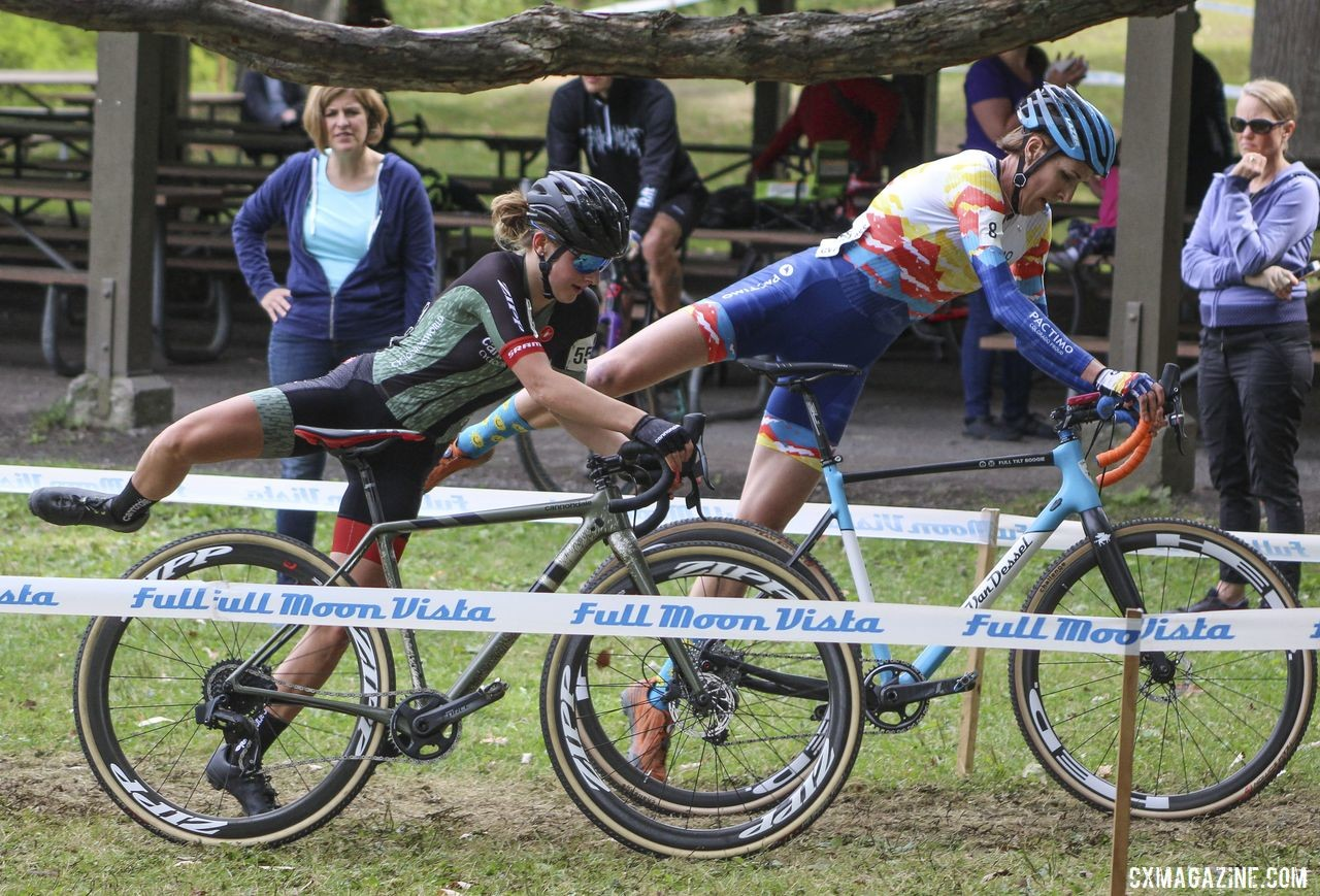 Gunsalus raced her first UCI weekend at Rochester earlier this year. 2019 Rochester Cyclocross Day 2, Sunday. © Z. Schuster / Cyclocross Magazine