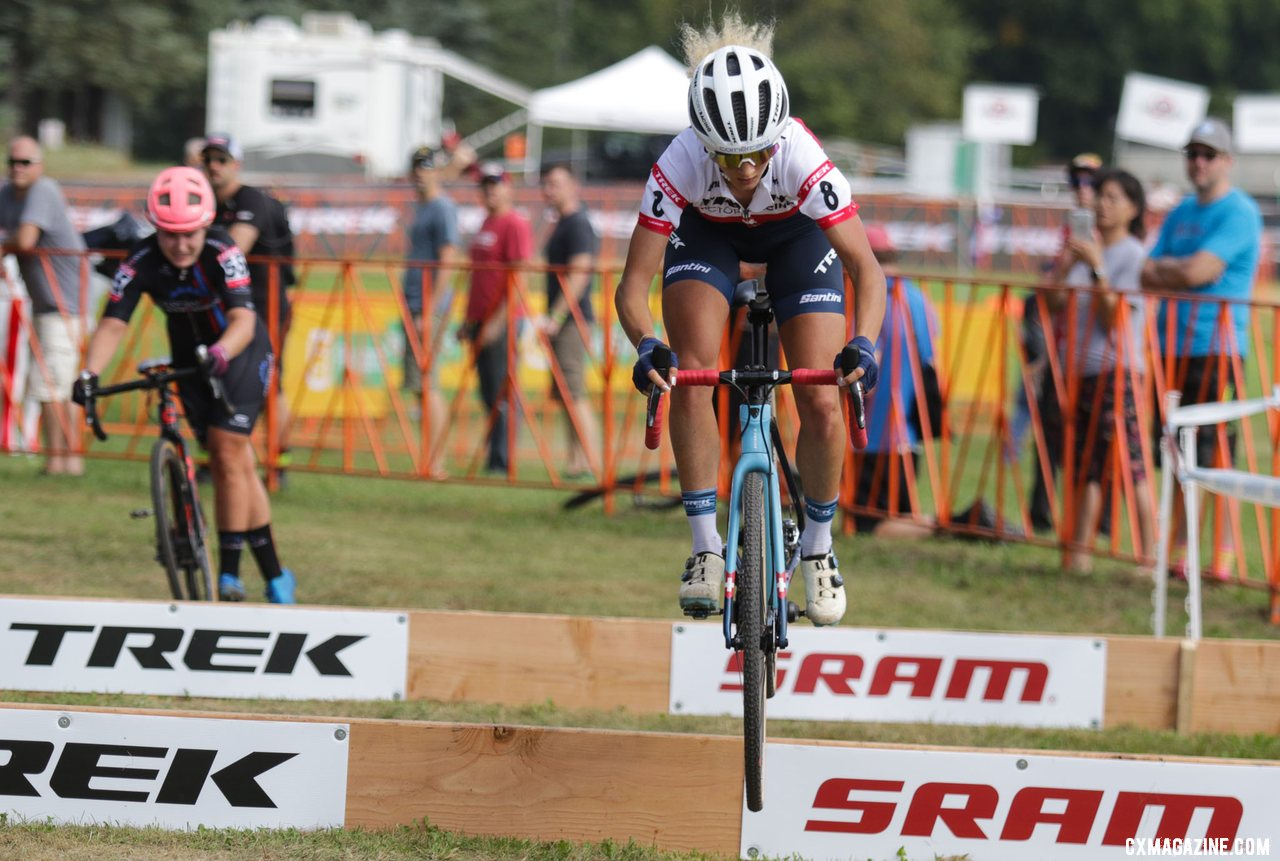 Neff Gets Sendy at Barriers, Goes Poof at Trek CX Cup Friday – Report, Photos