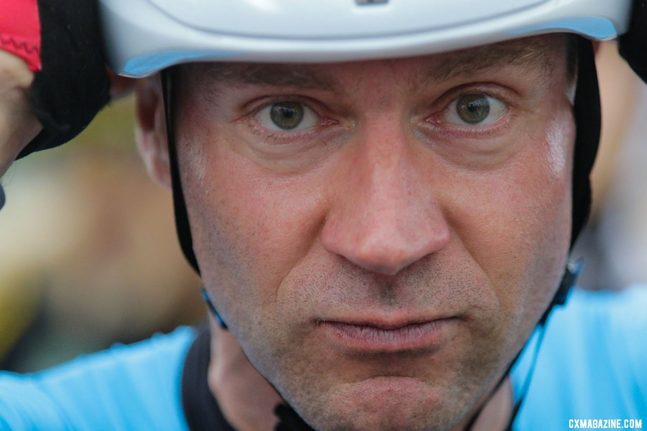 Jens Voigt again participated in the Legends Race. Faces of the 2019 Trek CX Cup weekend. © D. Mable / Cyclocross Magazine