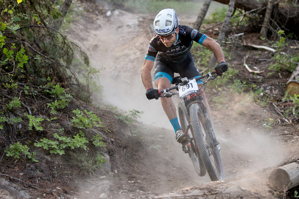 Lindine plans to continue racing mountain bikes and working as an ambassador in the sport. © Apex Technology Group