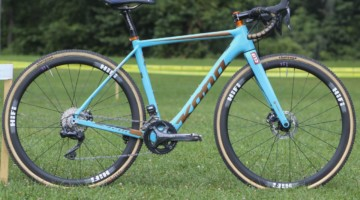 Clara Honsinger's 2019/20 Kona Major Jake. © Z. Schuster / Cyclocross Magazine