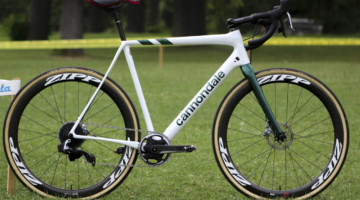Curtis White's 2019/20 Cannondale SuperX Cyclocross Bike. © Z. Schuster / Cyclocross Magazine