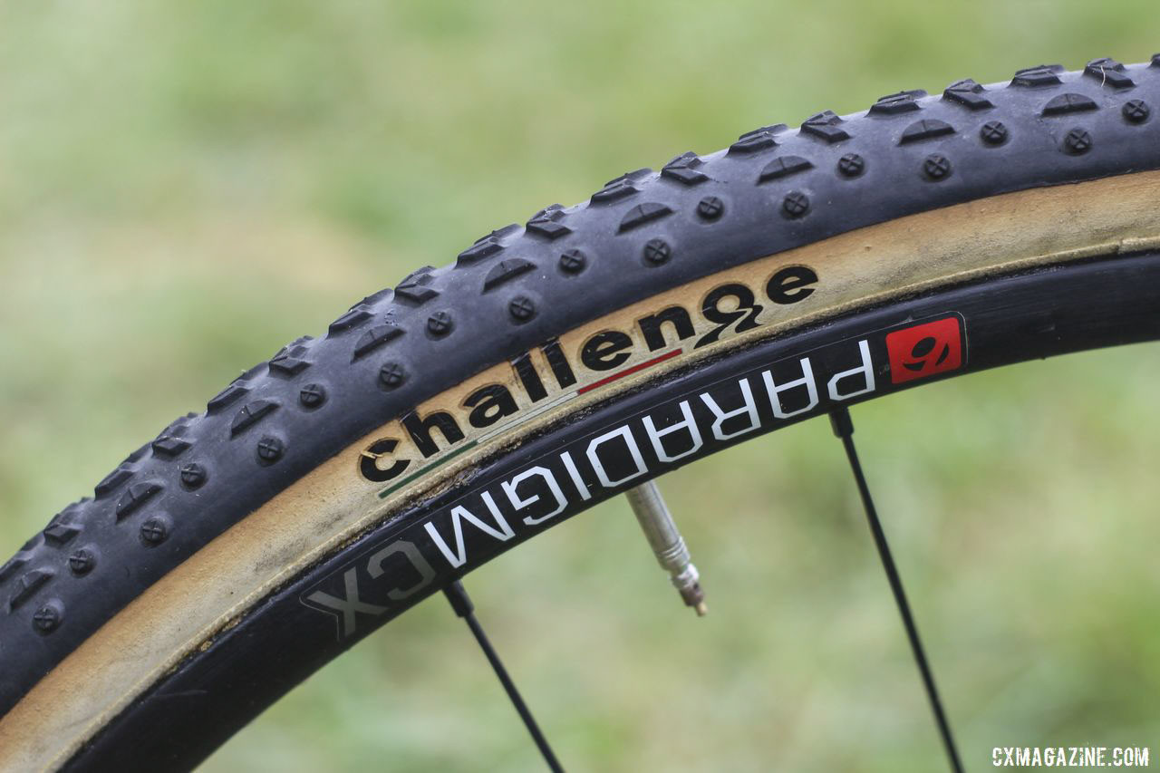 The Paradigm CX alloy tubulars are a relatively affordable option Neff chose for her races. Jolanda Neff's 2019 World Cup Waterloo Trek Boone. © Z. Schuster / Cyclocross Magazine