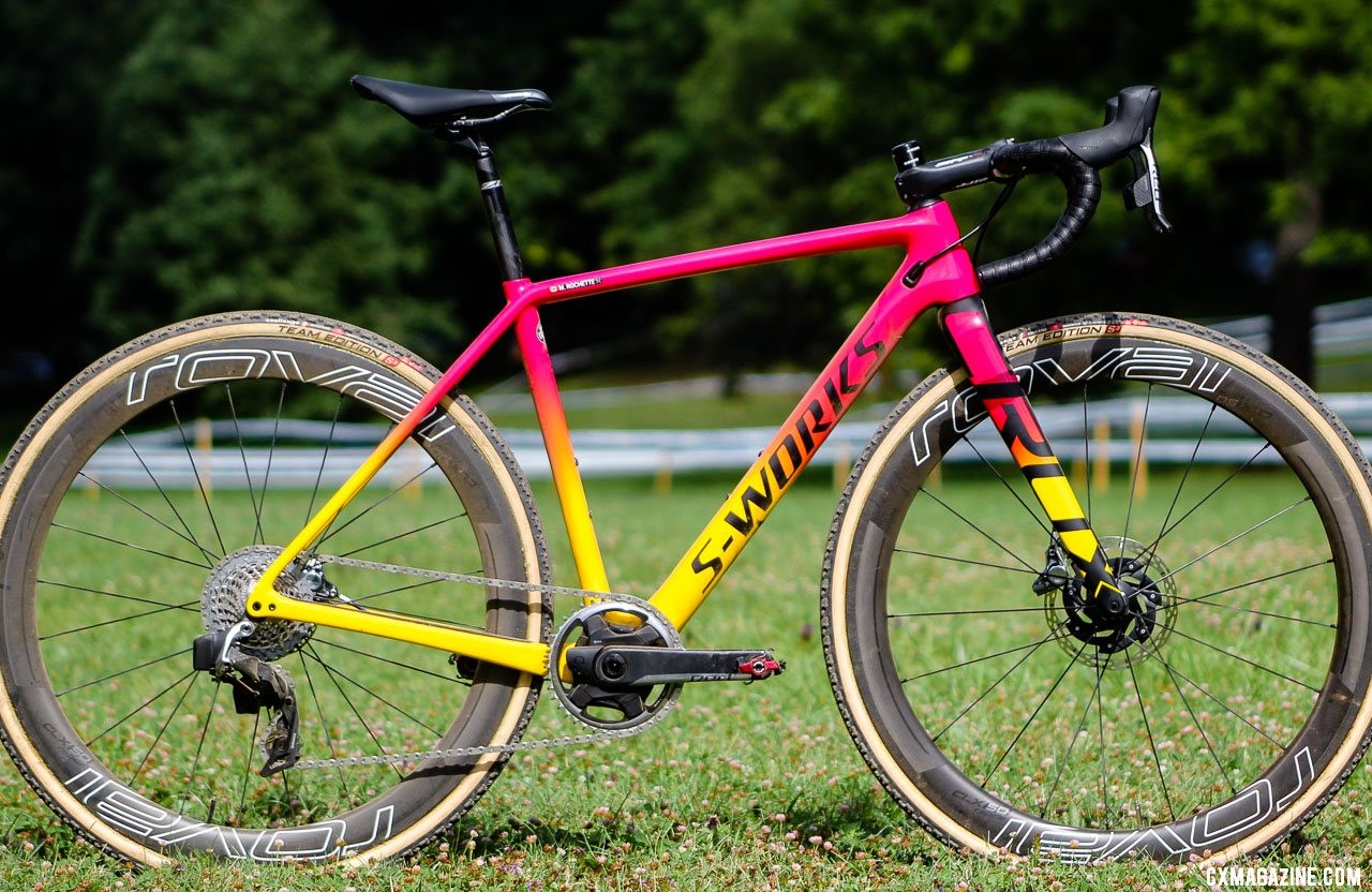Maghalie Rochette's Rochester Cyclocross-winning S-Works Crux. © Z. Schuster / Cyclocross Magazine