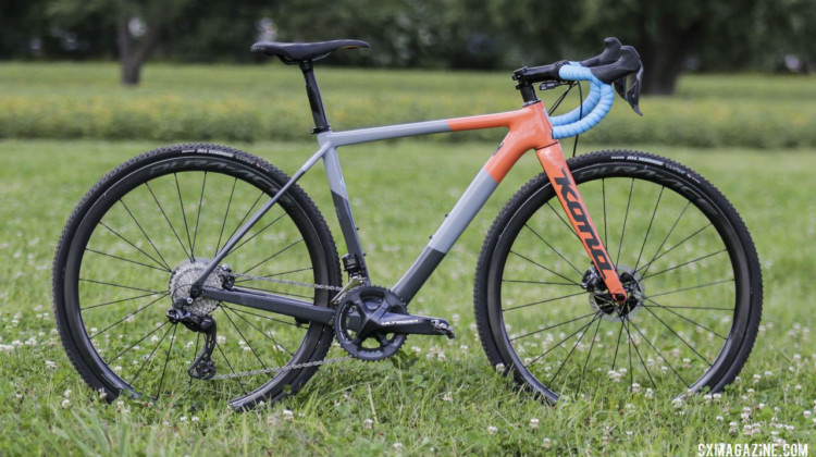 Rebecca Fahringer's Kona Super Jake Cyclocross Bike. © D. Mable / Cyclocross Magazine