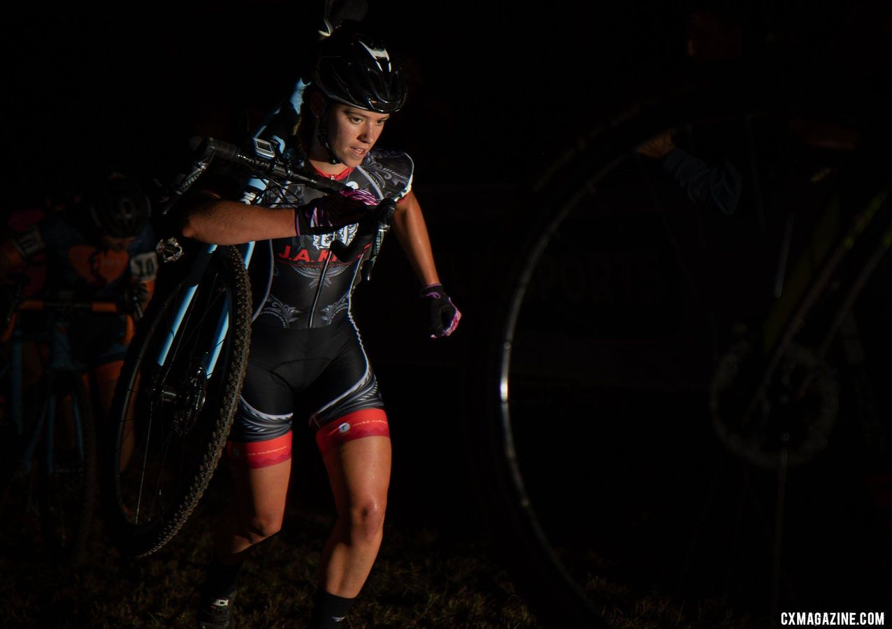 Allison Arensman returned to racing at Jingle Cross this year. © A. Yee / Cyclocross Magazine