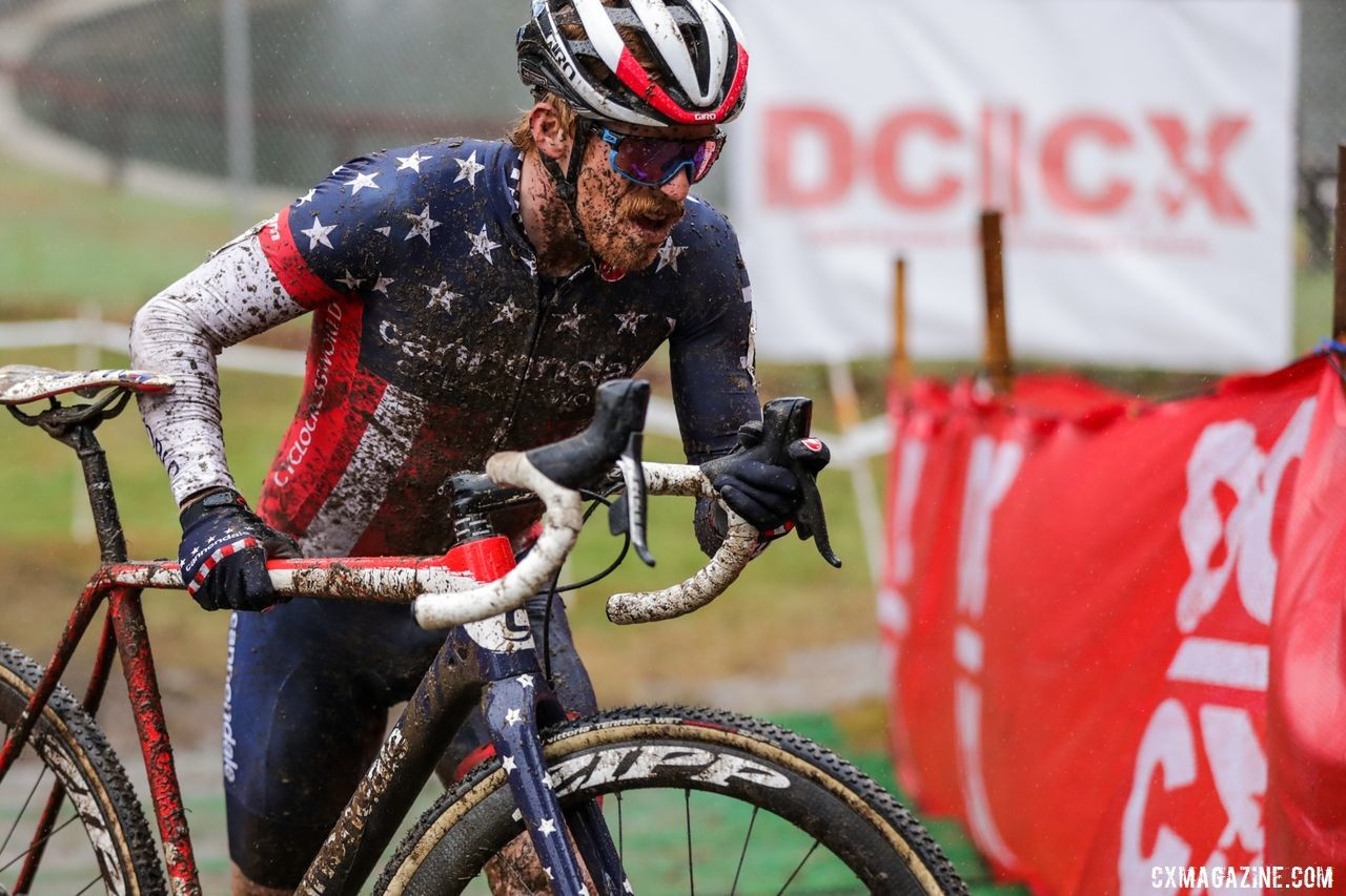 Stephen Hyde took home a sloppy win on Day 2. 2019 DCCX Day 2. © Bruce Buckley