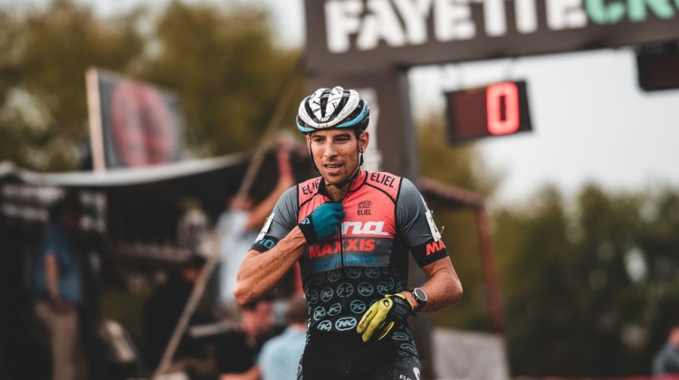 Kerry Werner took the 2019 FayetteCross Day 1 win. © Kai Caddy