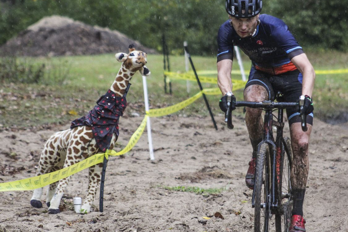 Jo Van Deraffe is helping put on a cyclocross race this Saturday in Wisconsin.