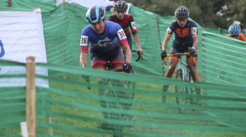 Corey Coogan Cisek races at Jingle Cross © Z. Schuster / Cyclocross Magazine
