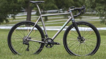 Brannan Fix's 2019/20 Moots Psychlo X RSL Cyclocross Bike. © Z. Schuster / Cyclocross Magazine