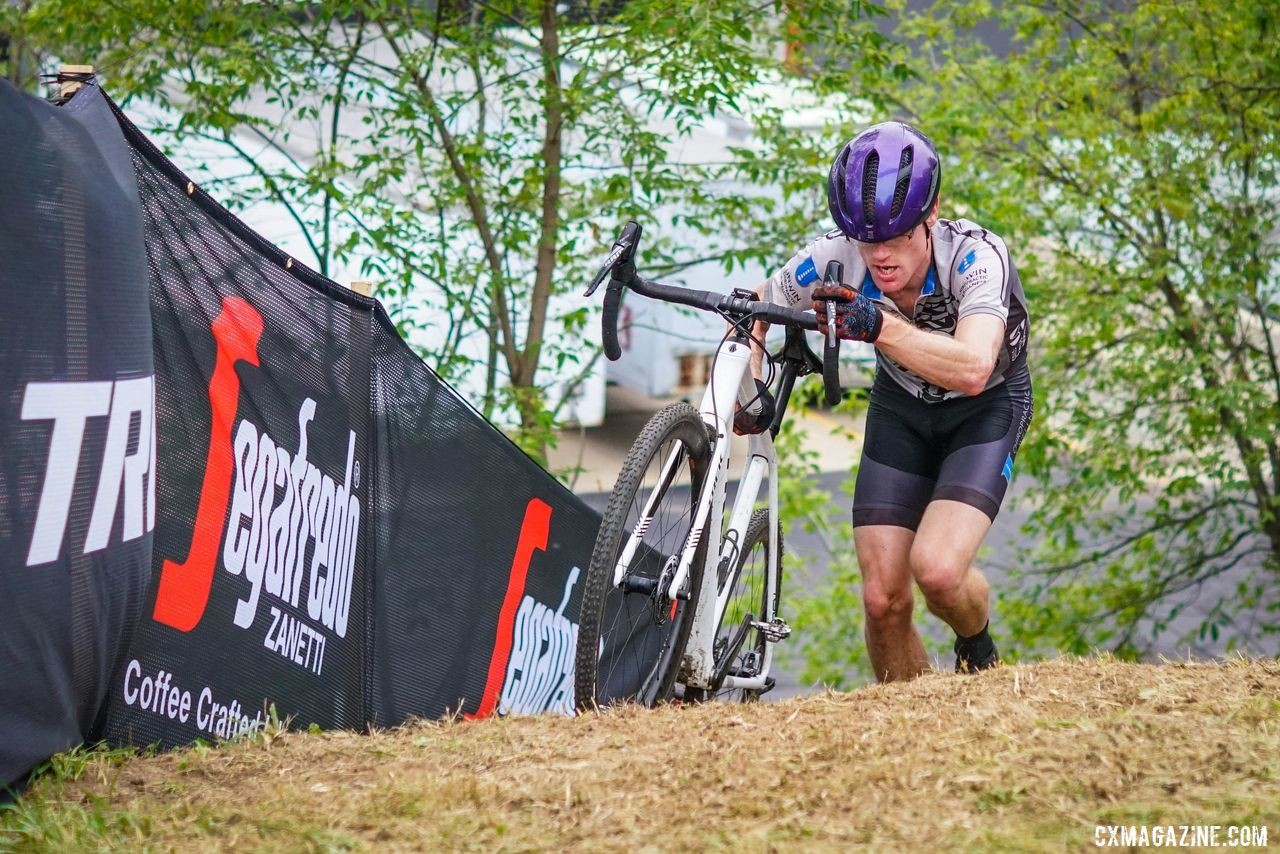 The Segafredo Run-Up was a physical and metaphorical challenge. I could not  help but post-race collapse after the CCC Indian Lakes race. © SnowyMountain Photography