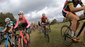 At least 161 women took the start at the UK's CCXL Campbell Park cyclocross race.