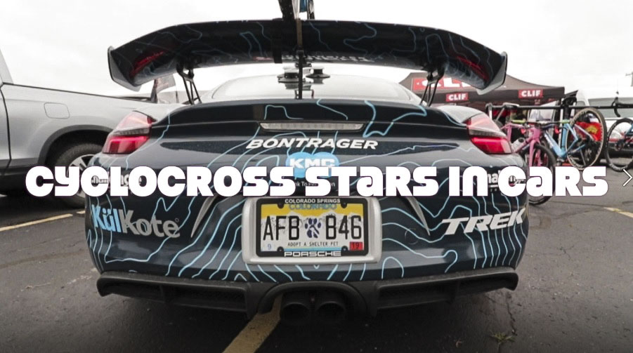 Vroom! Vroom! Cyclocross Stars in Cars with Katie Compton