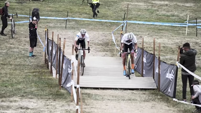 Cyclocross Television Replay: Kerry v. Curtis at Charm City Cross Day 2