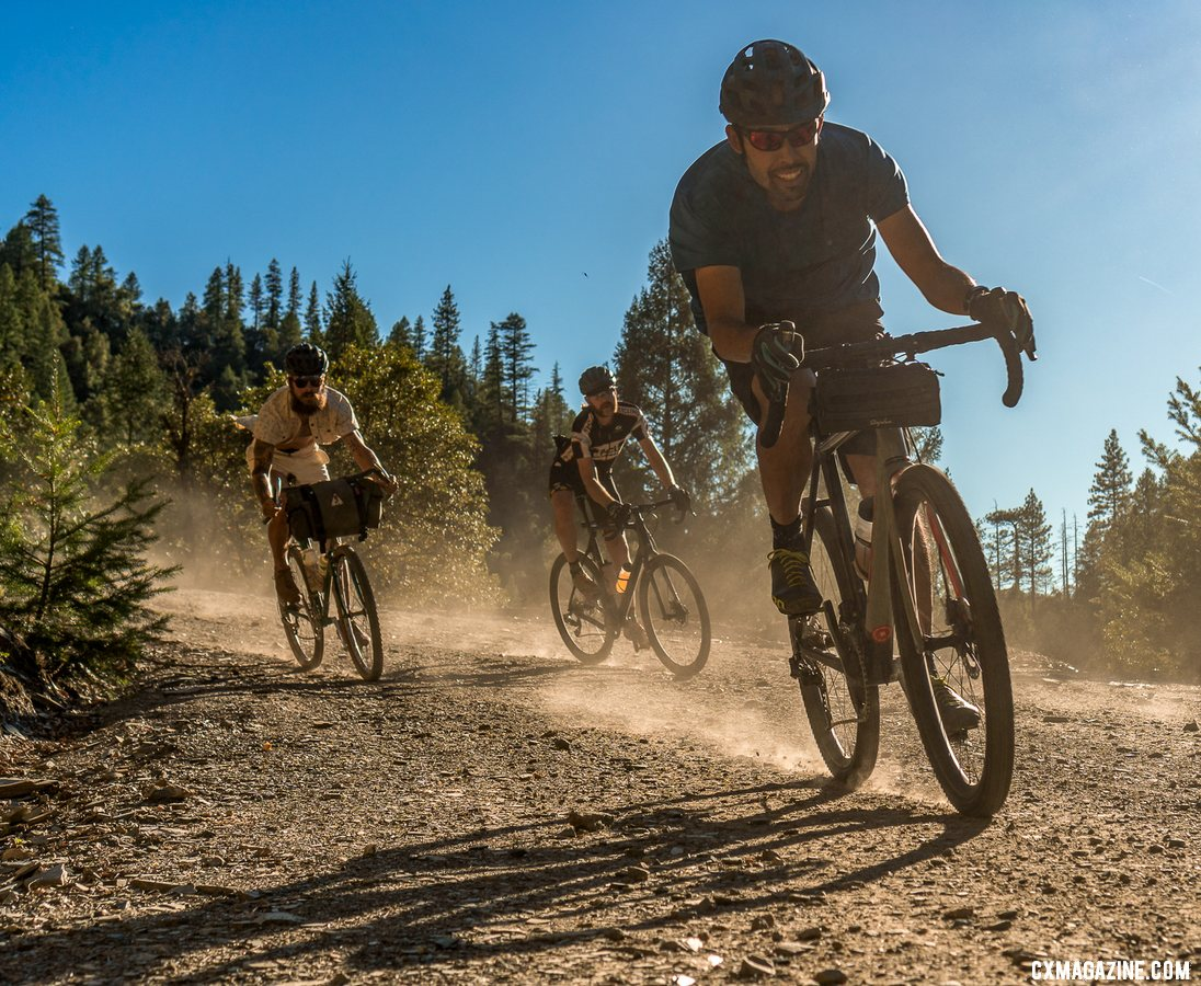 Dirt roads and great Downieville scenery made for smiles while testing the Roval Terra wheels. photo: Billy Sinkford