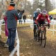 Michael van den Ham and Marc-Andre Fortier battled at Canadian Nats. 2019 Shimano Canadian Cyclocross National Championships. © Nick Iwanyshyn