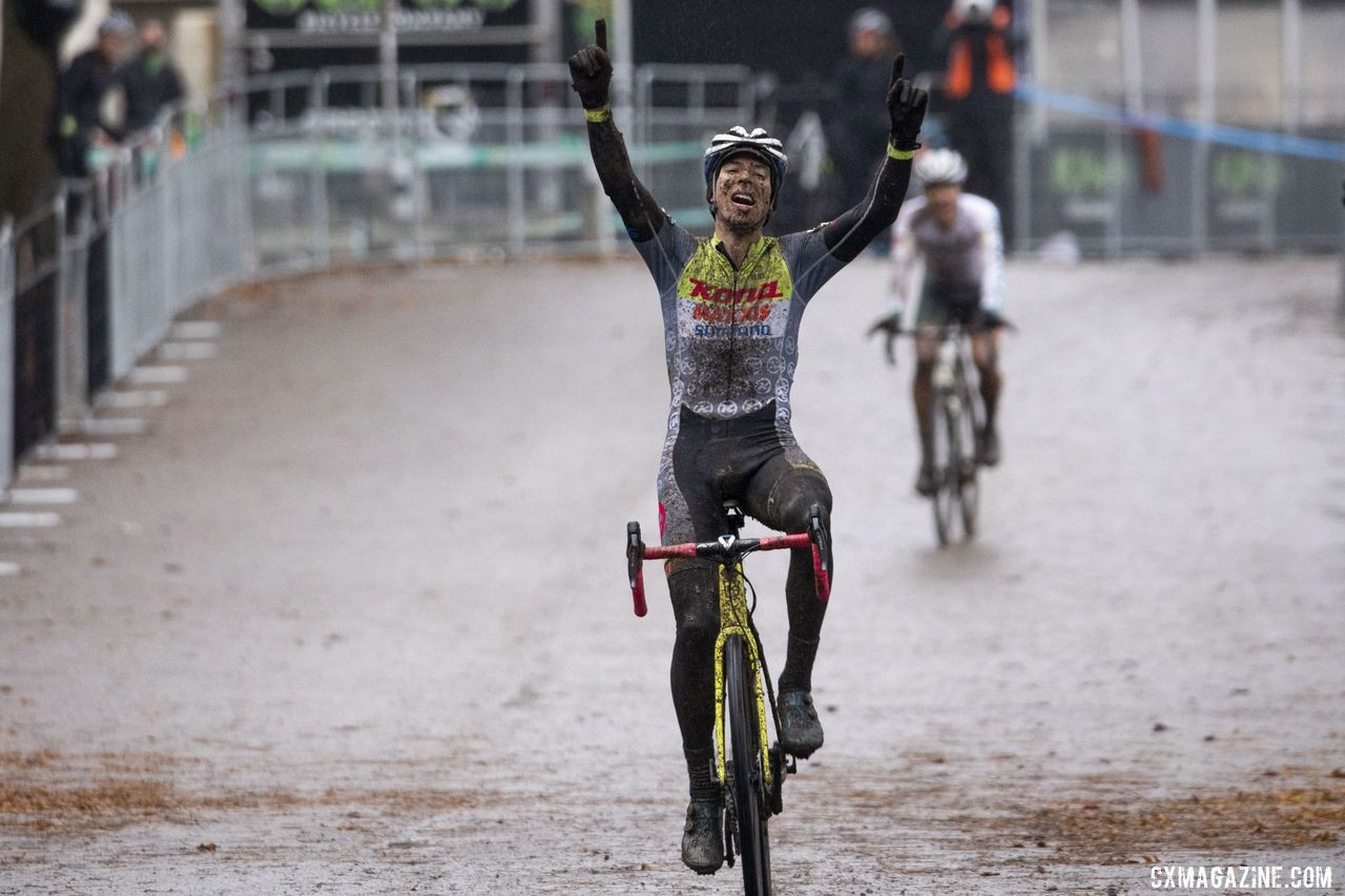Kerry Werner won Pan-Ams and entered U.S. Nationals as a favorite. 2019 Pan-American Cyclocross Championship. © Nick Iwanyshyn