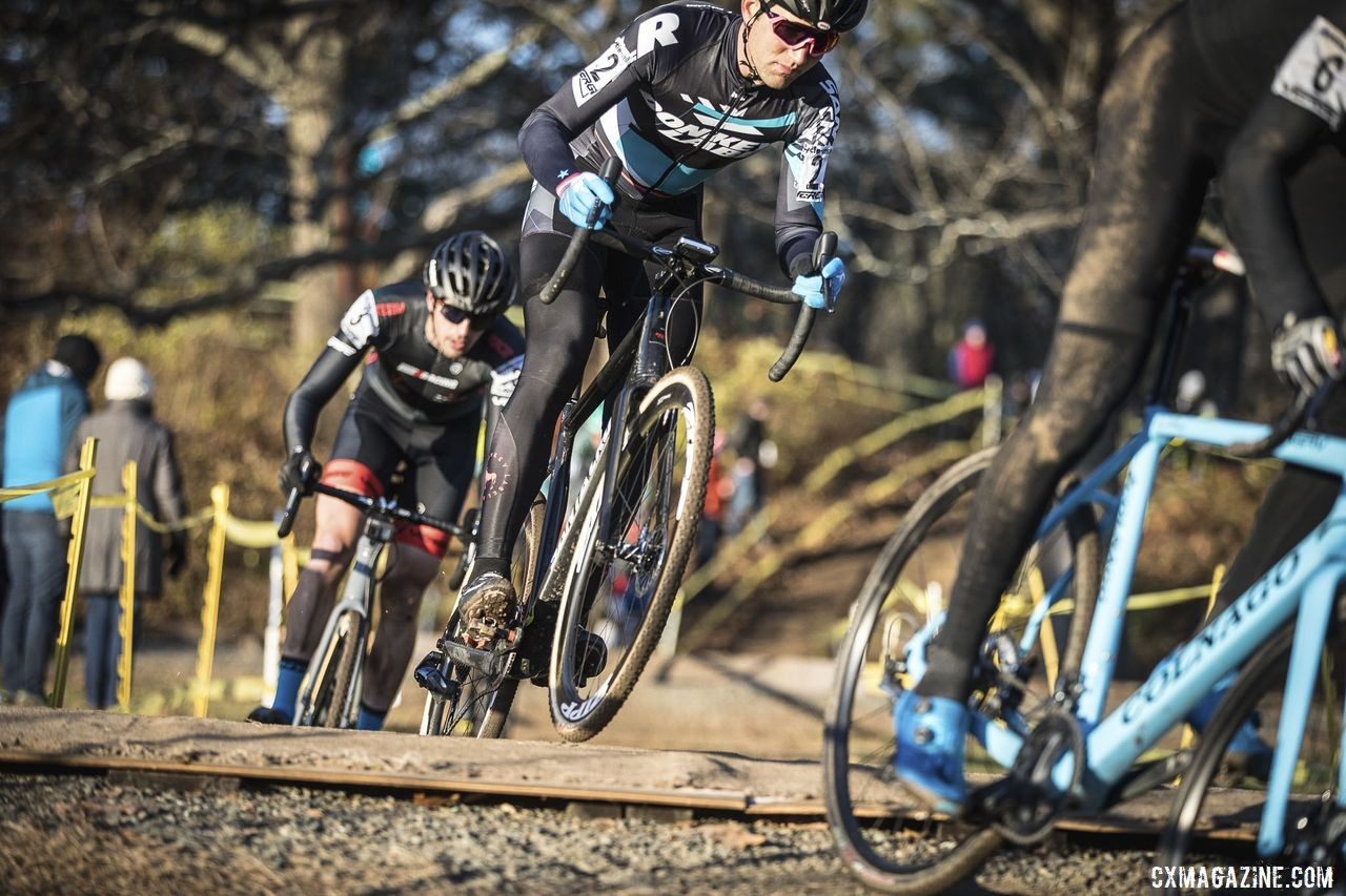 Tobin Ortenblad and others faced a tactical race on Saturday. 2019 Northampton International Day 1. © Angelica Dixon