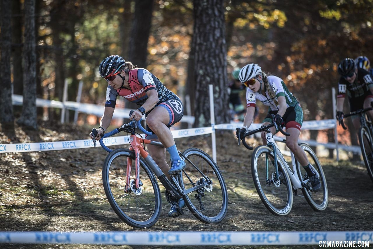 Rebecca Fahringer was again a rider who animated the front of the Elite Women's race. 2019 Really Rad Festival of Cyclocross Day 2. © Angelica Dixon