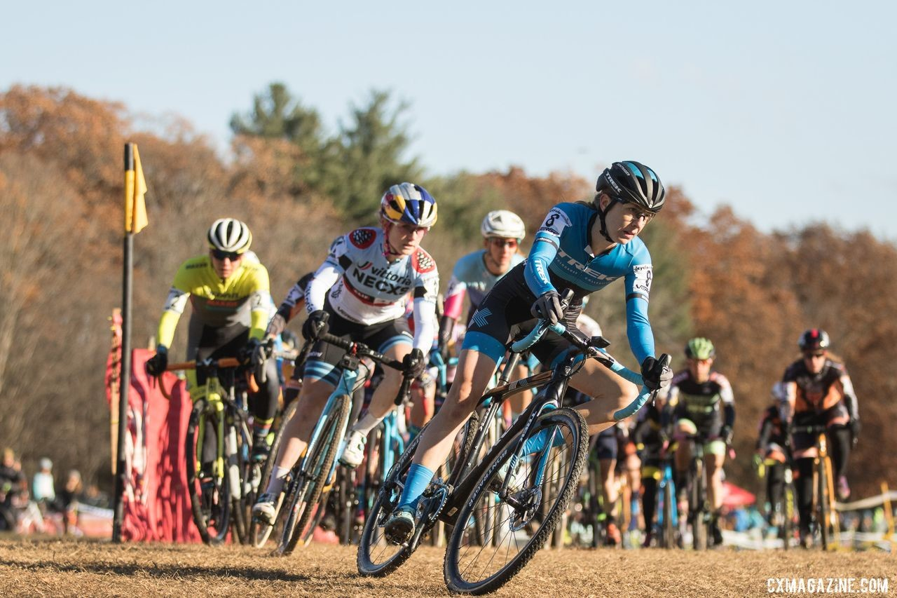 Riders from New England and across the country are set to start the Elite Women's races this weekend. © Angelica Dixon