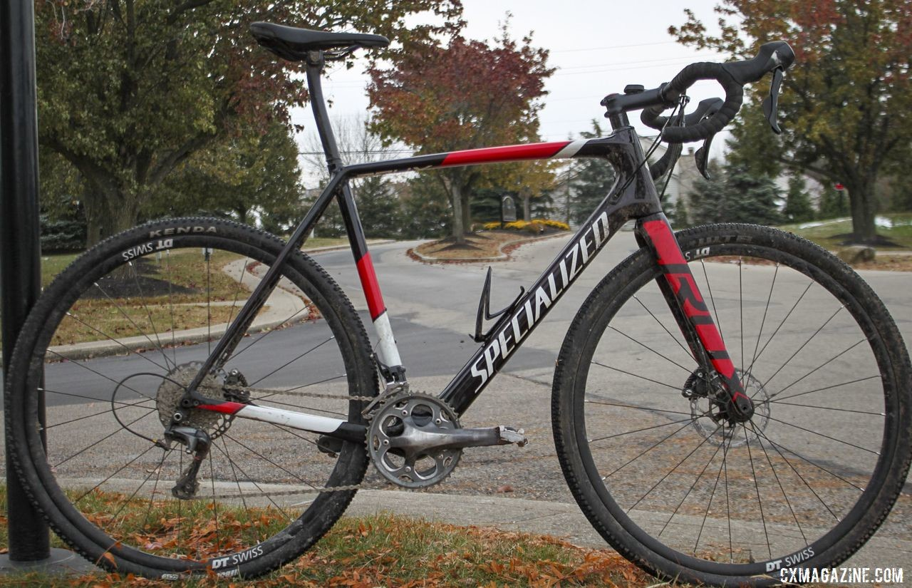 The author rode the 2019 Iceman Cometh Challenge on a Specialized CruX. © B. Grant / Cyclocross Magazine