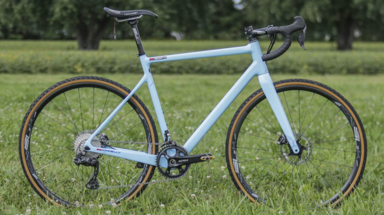 Gage Hecht's 2019 Donnelly C//C Cyclocross Bike. © Z. Schuster / Cyclocross Magazine