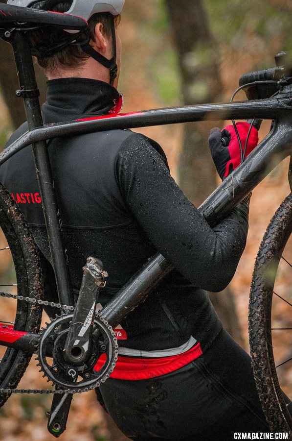 Mike Garrigan's LASTIG brand offers up cyclocross-specific tights, jackets and a race suit.