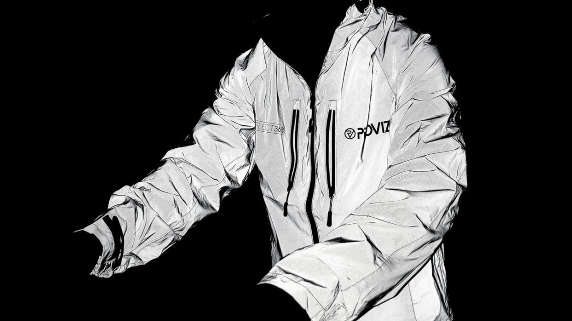 The Proviz Reflect360 Cycling Jacket adds more visibility than Illuminite or Sugoi Zap garments we've tested in the past. © A. Yee / Cyclocross Magazine