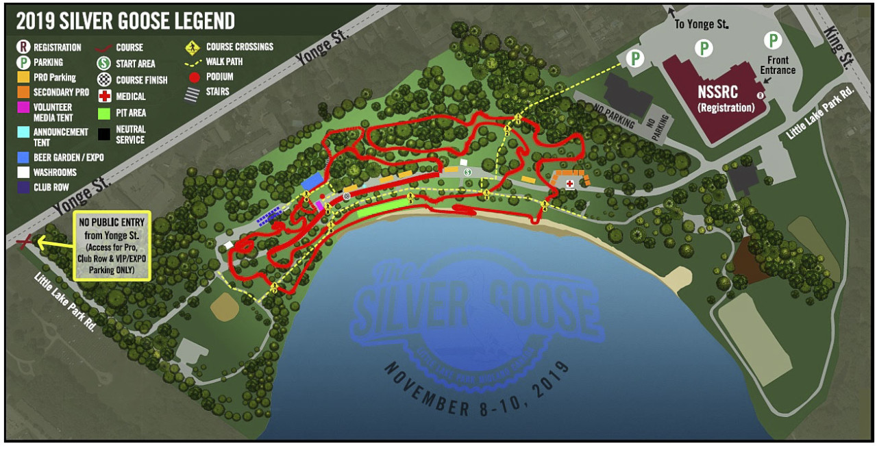 2019 Pan-American Championships Course Map