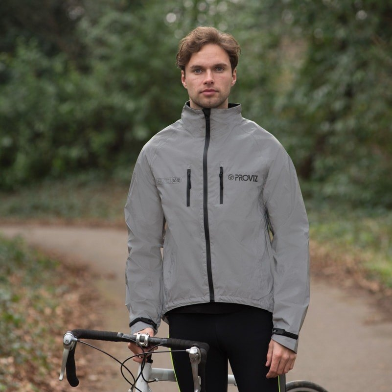 The Proviz Reflect360 Cycling Jacket doesn't scream for attention during the day. photo: courtesy