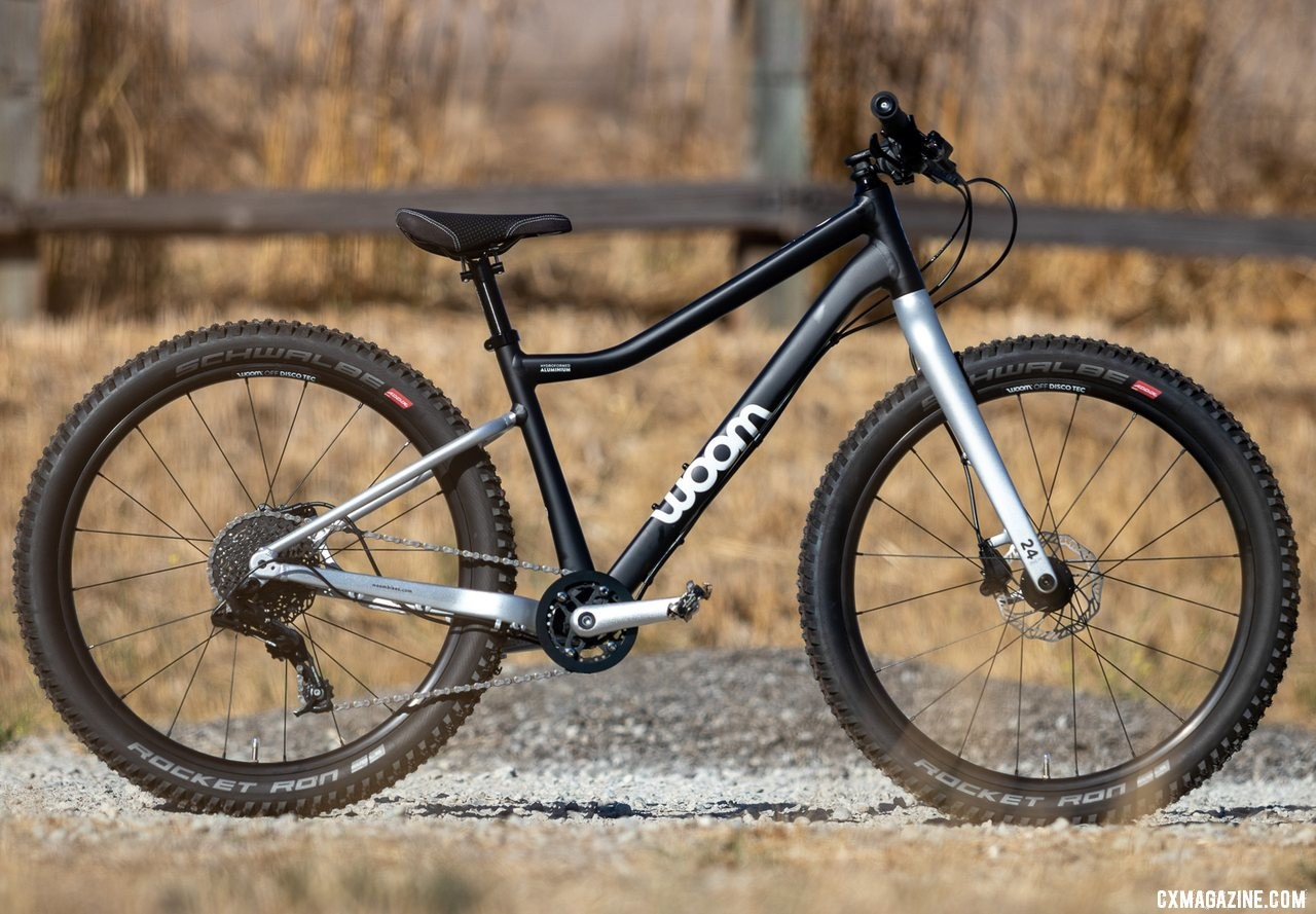 "The lightweight Woom Off 5 24"" bike review is ready for any off-road riding and tips the scales at just 18.9 pounds. © A. Yee / Cyclocross Magazine"