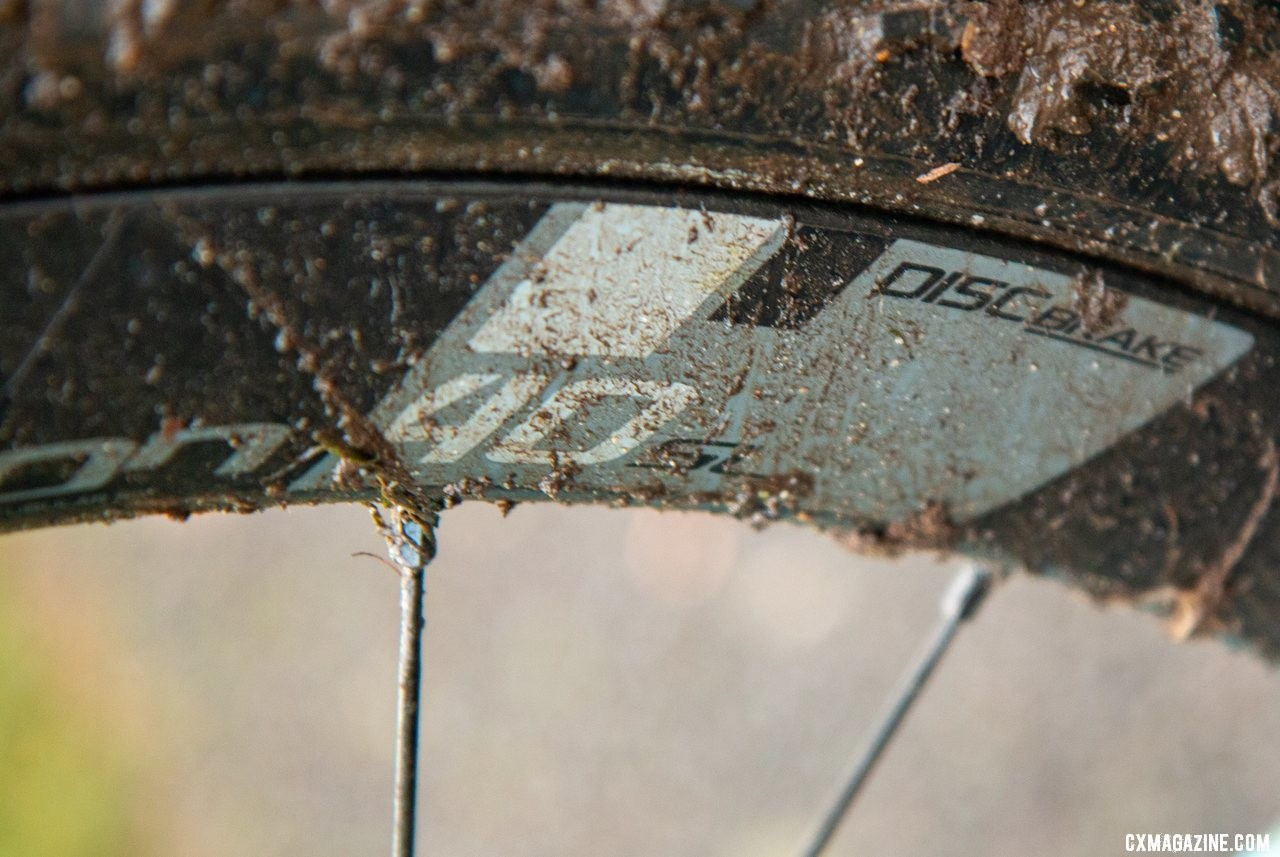 Hecht ran Vision Metron 40 SL carbon tubulars at Nationals. Gage Hecht's Elite Men's winning Donnelly C//C cyclocross bike. 2019 USA Cycling Cyclocross National Championships bike profiles, Lakewood, WA. © A. Yee / Cyclocross Magazine