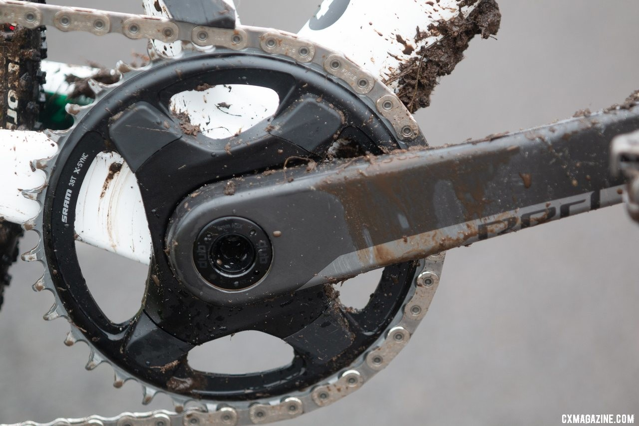 Clouse used a 38t chainring in Lakewood. Katie Clouse's U23 Women's winning Cannondale Super-X. 2019 Cyclocross National Championships, Lakewood, WA. © A. Yee / Cyclocross Magazine